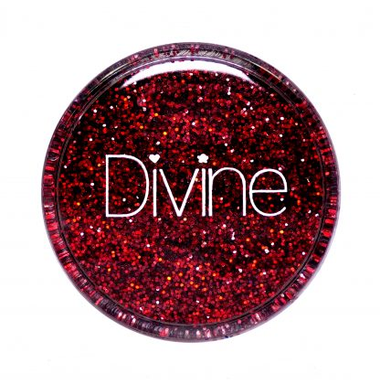 Best red nail art glitter