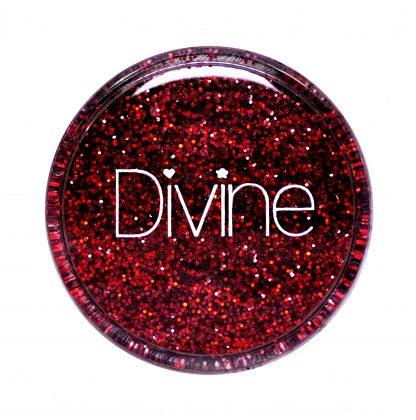 Best red nail art glitter