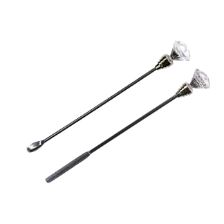 Crystal diamond stirrer mixer tool set