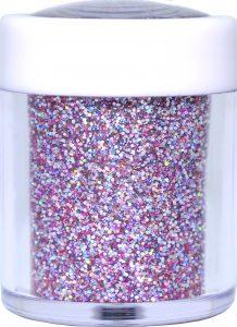 silver lilac holo nail glitter