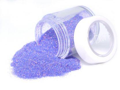 lilac pink blue iridescent nail art glitter