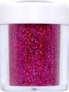 barbie pink holo nail glitter