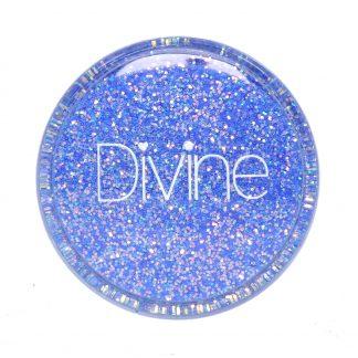Baby Blue Iridescent nail glitter