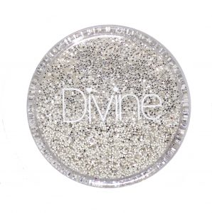 best silver nails glitters