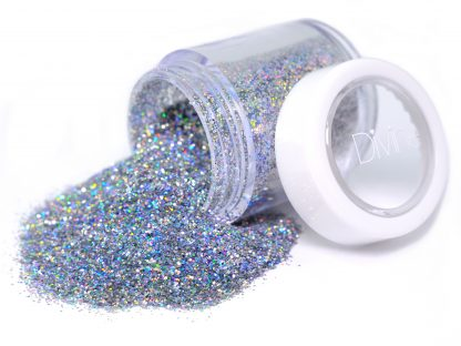 silver holo holographic nail glitter