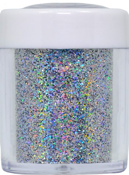 best silver holo nail glitter