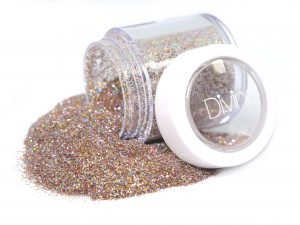 nude gold holo fine glitter