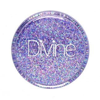 lilac iridescent fine nail glitter